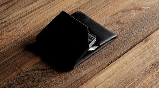 Single-Cut Leather Wallets