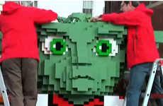 Alien LEGO Sculptures