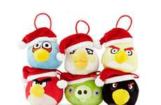 Santa Avian Ornaments