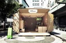 Cardboard Box Pop-Up Shops