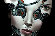 Segmented Cyborg Faces