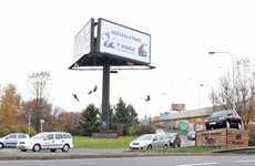 Spinning Billboard Swings