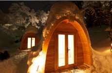 Portable Wooden Huts