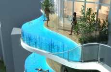 Floating Balcony Pools