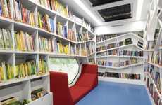 Whimsical Mobile Bookshops