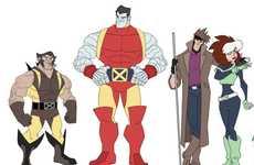Disneyfied Marvel Mutants