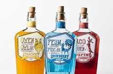 Quirky Soft Drink Branding