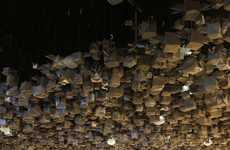 Interactive Origami Installations