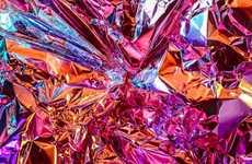 Kaleidoscopic Crumpled Captures