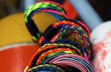 Nautical Neon Thread Bracelets