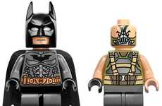 Block-Made Batman Figurines