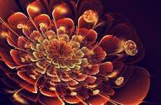 Dazzling Digital Flower Designs