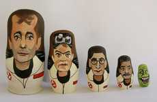 Sci-Fi Matryoshka Figurines