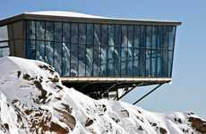 Mirrored Alpine Dining