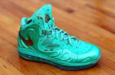 Exclusive Neon Court Sneakers