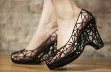3d-Printed Latticed Footwear