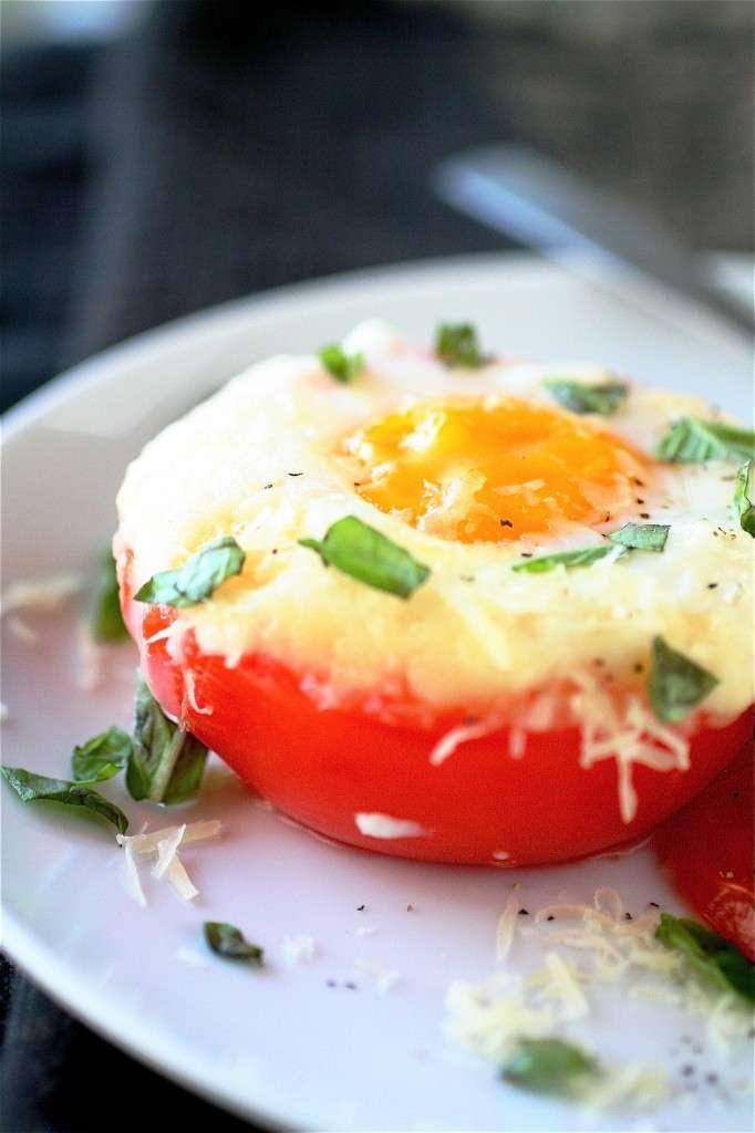Inside-Out Vegetable Omelets
