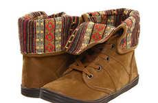 Kaleidoscopic-Patterned Kicks