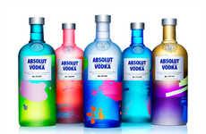 Splatter Painted Bottles