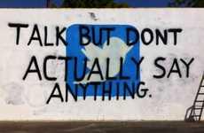 Social Media Awareness Grafitti