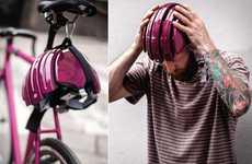 Adjustable Cyclist Head Protectors