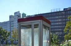 Upcycled Aquatic Phone Booths