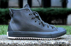 Hipster Leather Sneakers