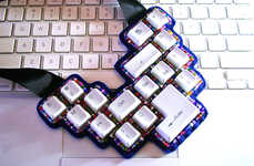 Upcycled Keyboard Jewelry
