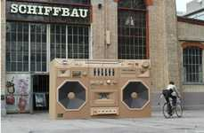 Throwback Music Installations
