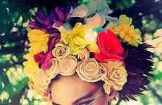 Fantastically Floral Portraits
