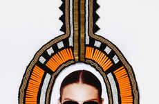Geometric Tribal Sunglasses
