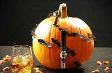 Festive DIY Booze Barrels