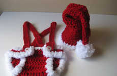 Festive Knitted Diapers