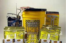 Compact Bucket Survival Kits