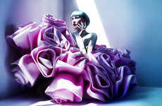 Futuristically Textured Fashion