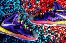 Foam Football-Inspired Sneakers