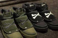 Enduring Cross Bone Sneakers