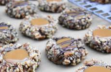 Brimming Caramel Biscuits