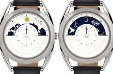 Elegant Sky-Inspired Timepieces