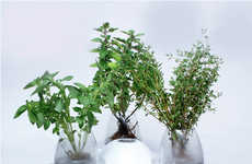 Compact Fogponics Planters