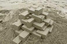 Geometric Sand Castles
