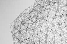 Geometric Pencil Sculptures