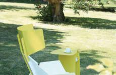 Geometric Lawn Furniture