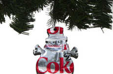 Recycled Pop Can Ornaments