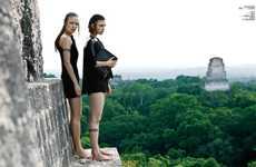 Futuristic Mayan-Inspired Fashion