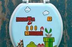 Nostalgic Gamer Lavatory Covers
