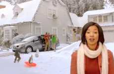 Rap-Inspired Mini Van Ads