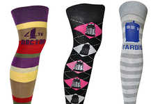 Sci-Fi Patterned Stockings