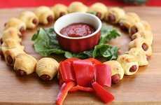 Hot Dog Holiday Decor