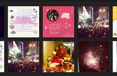 Social Media Holiday Celebrations